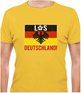Tstars - Los Deutschland! Go Germany! Soccer Team Fans T-Shirt