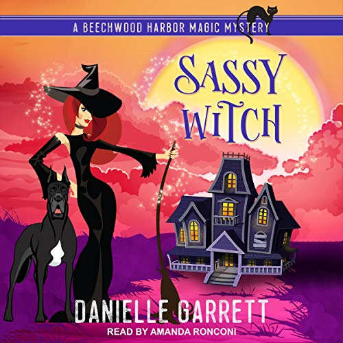 Sassy Witch audiobook cover art