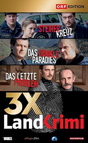 Landkrimi-Set 5: Steirerkreuz / Das dunkle Paradies / Das letzte Problem [3 DVDs]