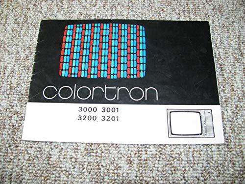 Farb-Fernsehen Colortron 3000 / 3001 / 3200 / 3201