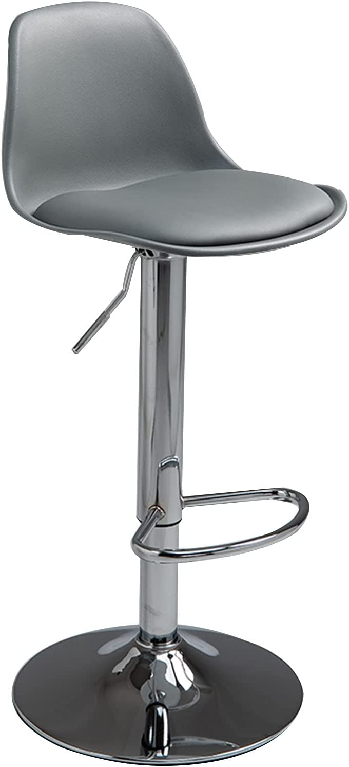 LIYANLCX Modern Square PU Leather Bac El Paso Our shop OFFers the best service Mall Bar Stools Adjustable with