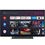 TV toshiba 32pulgadas Full HD - 32la3b63dg - Android - hdmi - USB - dvb - t2 - c - s2 - Bluetooth - a+