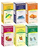 Assorted Tea Packs, Six Flavors, 28 Tea Bags/Flavor, 168/Carton (並行輸入品)