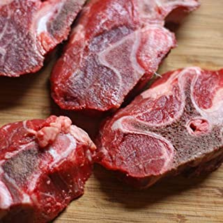 100% Grass Fed Beef Neck Bone 1 Pack – 2.13lbs Each Pack– Delicious & Healthy Natural Beef Meat, Protein & Omega-3 Rich, H...