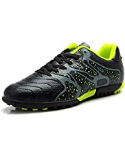 Tiebao Niño Difícil Suelo Artificial Velocidad PU Cuero Fútbol Zapatos