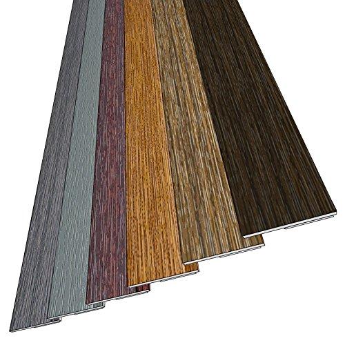 5 m (3,38€ /m) Fensterleiste Flachleiste Abdeckleiste 30mm Höhe - Made in Germany - 1 m bis 50 m (OHNE LIPPE) Fensterleisten Flachleisten in grau, anthrazit, braun, dunkelbraun, golden-oak