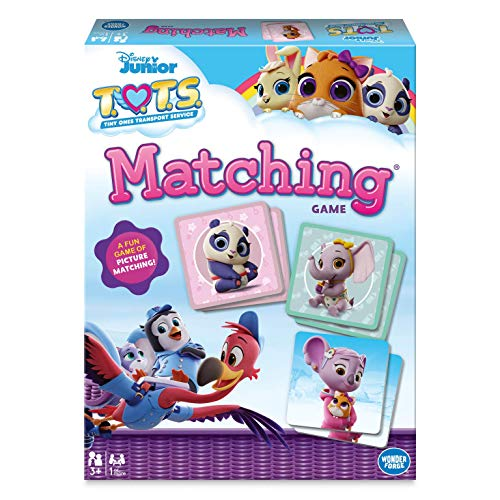 Wonder ForgeDisney T.O.T.S Matching Game for Boys & Girls Age 3 to 5 - A Fun & Fast Disney Memory Game (60001899)
