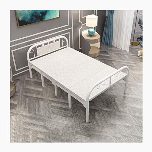 Haozai Klapbed, inklapbaar, eenpersoonsbed, stapelbed, vrijetijdsbed, opvouwbaar, uniseks, inklapbaar bed voor volwassenen 0304