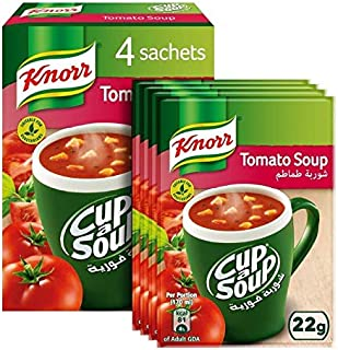Knorr Cup-A-Soup Cream of Tomato - 22gm (Pack of 4)