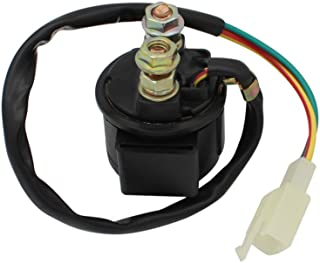 قطعات موتور سیکلت Cyleto Starter Solenoid Relay for 4-Stroke GY6 Engine 50cc 150cc 200cc 250cc ATV Dirt Bike Scooters Go Kart Dne Buggys Quad 4 Wheelers Pit Bike Moped Roketa SSR Tao tao Sunl Coolster