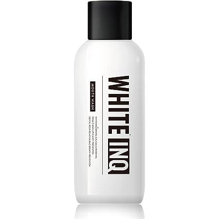マウスウォッシュ ホワイトニング 口臭 が気になる人に WHITE - INQ 口臭ケア 子供 から 大人 まで シトラス ミント 味 で口内スッキリ 洗口液 で 口臭予防 歯垢 を除去 簡単 オーラルケア 歯 をキレイに 400ml
