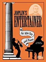 Joplin's Entertainer for Alto Sax & Piano