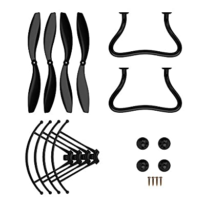 Holy Stone Spare Parts Kits Crash Pack for F181W 1080P Drone and F181G 720P Quadcopter