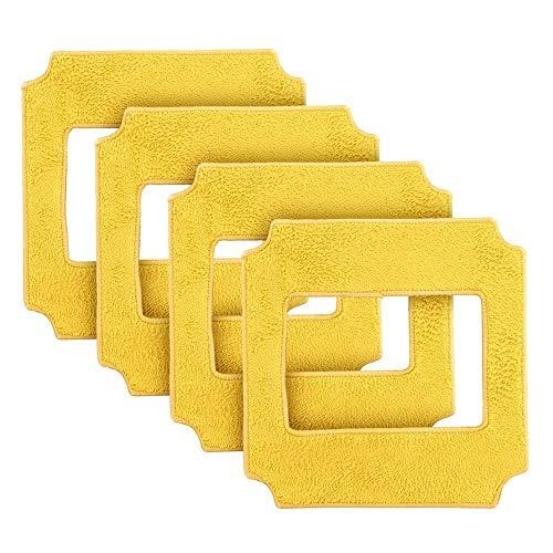 BLUELIRR Amarillo 4 Paños de WIN660 Robot de limpiaventanas