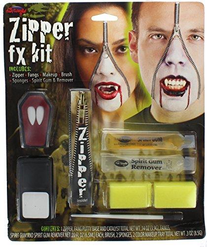 Deluxe Zipper Fx Kit - Vampire