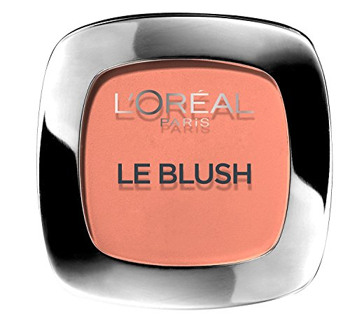 L'Oréal Paris Rouge Perfect Match Le Blush, 160 Peach / Dezent-matter Blush für einen frischen...