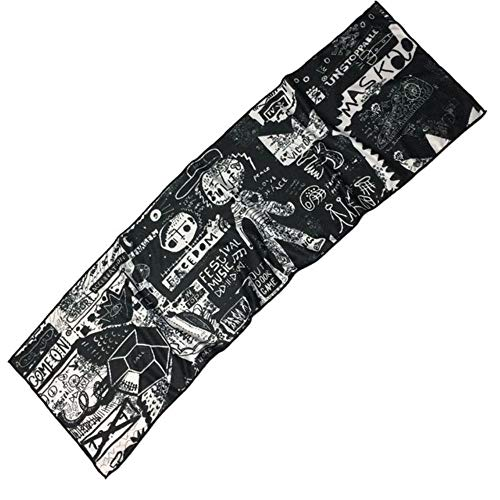 LASISZ 1PC 30 * 100cm Cold Cold Sports Towel Running Gym Sweat-Absorbent Sweat Towel Cold Towel Men and Women Quick-Drying Ice Towel,32
