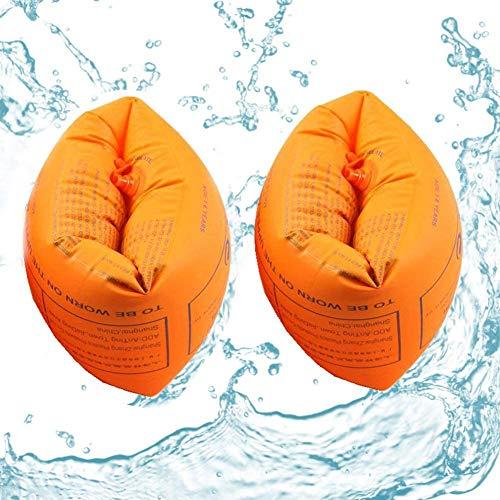 YFOX Los bucles de Brazo engrosados,Las ayudas para Nadar y el Sistema de Doble Bolsa de Aire Son Buenas Herramientas para Ayudar a Aprender a Nadar.