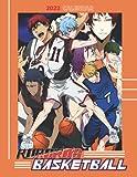 Kuroko s Basketball 2022 Calendar: 18-month Calendar 2022 from Jul 2021 to Dec 2022 in size 8.5x11