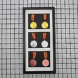 FTYYSWL Marco de la medalla de la exhibición,Marco de la caja de exhibición para mostrar la guerra,Militar,Medalla de deportes caja de exhibición de la