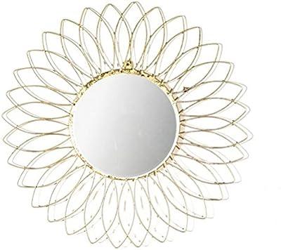 Venetian Design Foster Wall Mirror Diameter - 30 Golden Colour