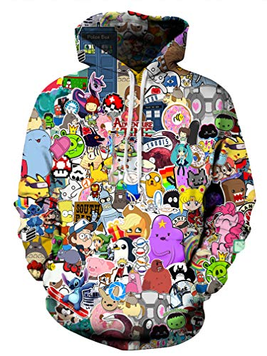 Mens Character Hoodies