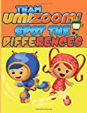 Team Umizoomi Spot The Difference: Adult How Many Differences Activity Books Relaxing Activity Pages