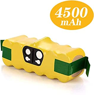 Batería de repuesto de 14.4V 4.5Ah Ni-MH para iRobot Roomba Serie 500 510 510 521 530 531 600 605 610 615 616 620 772 774 776 780 800 865 871 875 Reoben