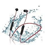 ockered Ecouteur Bluetooth 5.0, Écouteurs sans Fil Sport Son Basse Amélioré avec Micro Anti-Bruit, Resistantes à l'eau, 10 Heures d'autonomie, Casque Bluetooth pour Course à Pied, Jogging (Rouge)