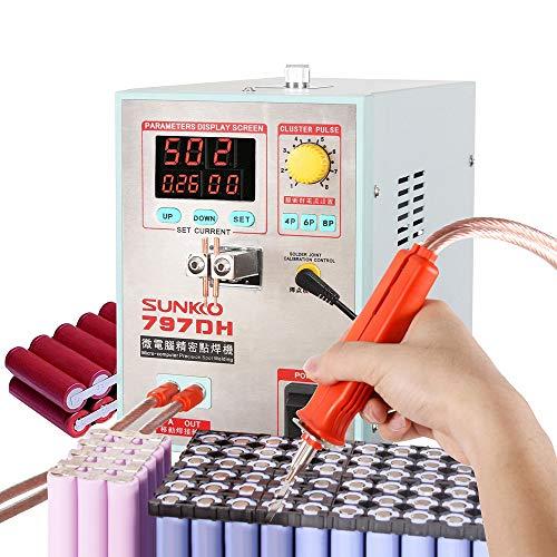 Hanchen Spot Welder Precision Pulse High Power Batterie Spot Schweißgerät für 18650 Akkupacks Schweißstift CE zertifiziert