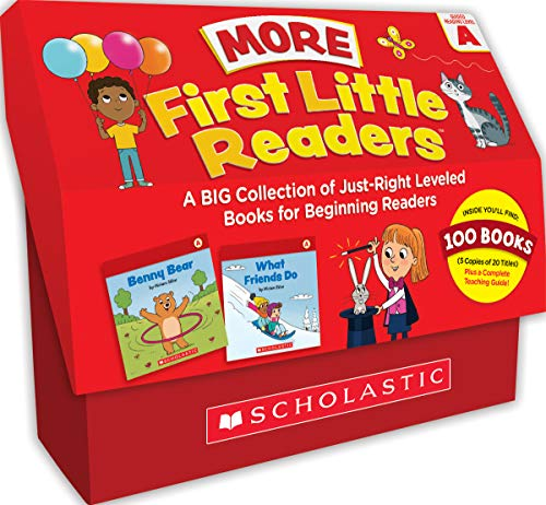 Compare Textbook Prices for First Little Readers: More Guided Reading Level A Books Classroom Set: A BIG Collection of Just-Right Leveled Books for Beginning Readers Teachers Guide Edition ISBN 9781338717389 by Sklar, Miriam