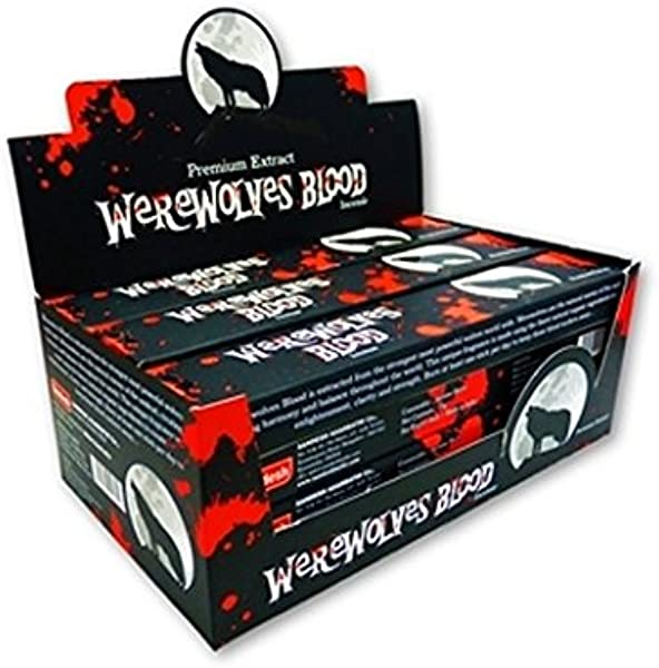 Find Something Different Green Tree Werewolves Blood Masala Incense Box Of 12 Packs