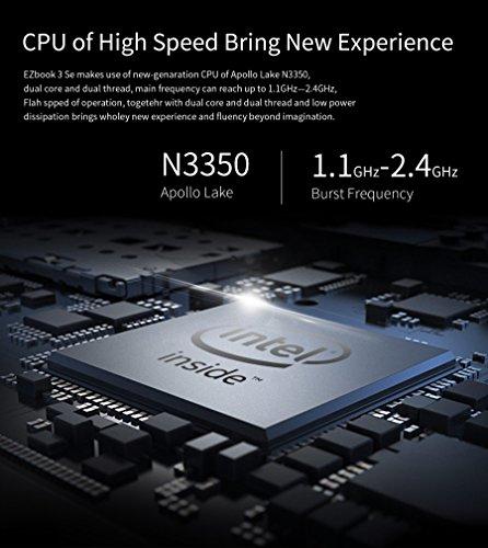 jumper EZBOOK 3SE – 13.3 Zoll Windows 10 Notebook Intel Celeron Bild 5*