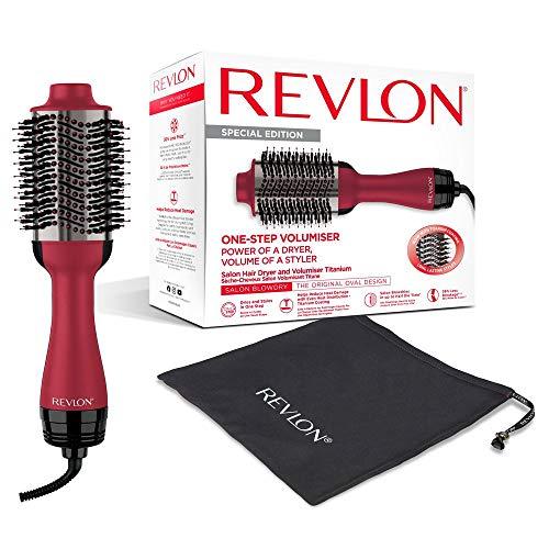 REVLON Salon One-Step Haartrockner und Volumiser mit Titanbeschichtung, RVDR5279UKE