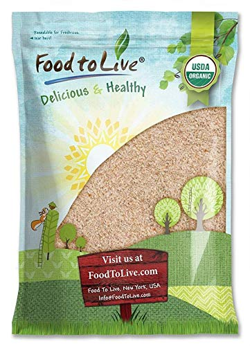 Organic Whole Wheat Bread Flour, 8 Pounds - Whole Grain, Stone Ground, Unbleached, Non-GMO, Kosher, Unbromated, Raw, Vegan, Bulk, Product of the USA