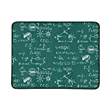 Electric Magnetic Law Theory Physics Mathematical Pattern Portable and Foldable Blanket Mat 60x78