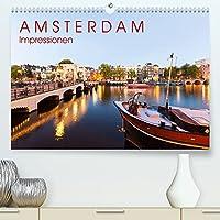 AMSTERDAM Impressionen (Premium, hochwertiger DIN A2 Wandkalender 2022, Kunstdruck in Hochglanz): 13 faszinierende Aufnahmen von Amsterdam, der Hauptstadt der Niederlande. (Monatskalender, 14 Seiten )