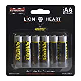 Rotolight AA size NiMH Lionheart AA 2700mAh Rechargeable Batteries - 6 Pack