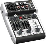 Behringer XENYX 302 USB/mesa de mezclas mesa de mezclas para música, Karaoke etc.