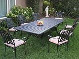 CBM Patio Kawaii Collection Cast Aluminum Outdoor Patio Furniture 9...