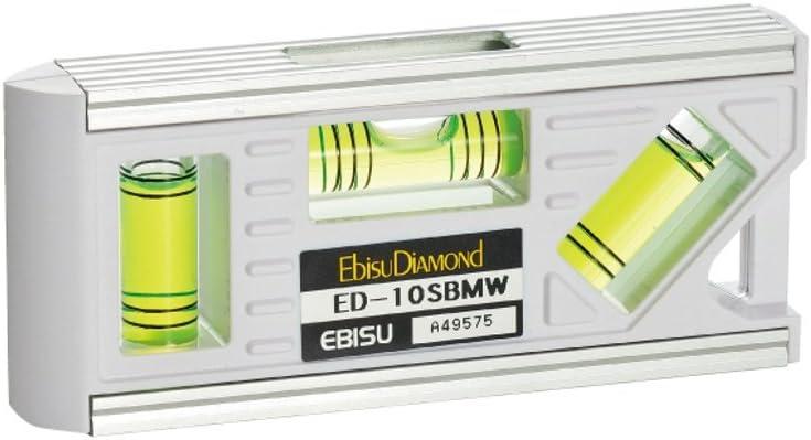 EBISU 70% New life OFF Outlet Plumb Level White ED-10SBMW Import Japan