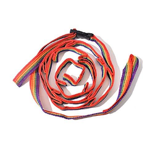 Tienda De usos múltiples de Colores Carpa Carpa Cuerda de Seguridad del Cable de la Cuerda de Camping al Aire Libre Accesorios, Longitud: 190 cm Asun