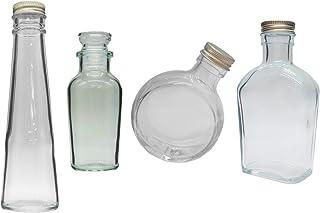 ハーバリウム 瓶 150ml 4種類セット 【お試し】 送料込み
