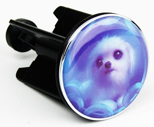 ROMITO® wastafel stopper afvoerstop stop stop wastafel afvoerstop hond #124