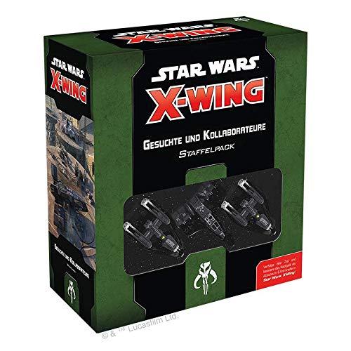 Asmodee Star Wars: X-Wing 2. Edition - Gesuchte + Kollaborateure, Erweiterung, Tabletop, Deutsch