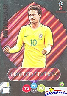 Neymar Jr. Brazil 2018 Panini Adrenalyn XL WORLD CUP RUSSIA EXCLUSIVE LIMITED EDITION HUGE JUMBO XXL Card! Rare Card Imported from Europe! Shipped in Ultra Pro Top Loader! WOWZZER