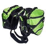 PETTOM Waterproof Dog Saddle Bag