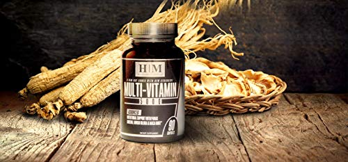 The Best Multivitamin Supplement for Men Multi-Vitamin 5000 Infused with Panax Ginseng Maca Root Green Tea Extract & Ginkgo Biloba for Daily Energy Vitality and Memory 90 Capsules Vitamin A - K