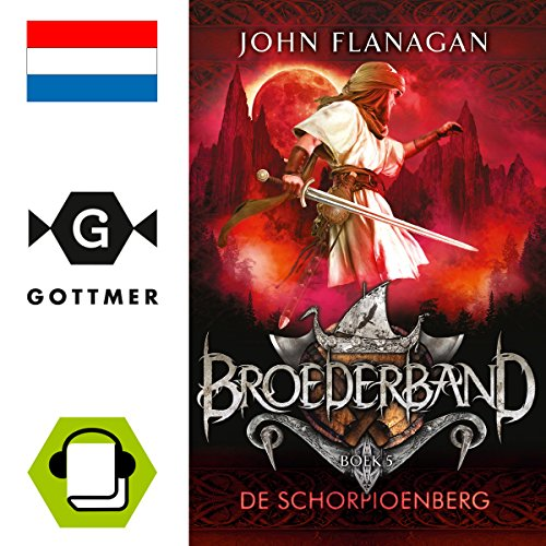 De schorpioenberg audiobook cover art