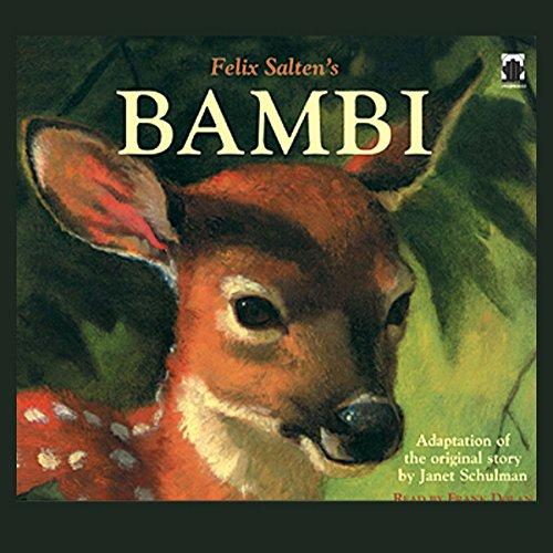 Bambi  audiobook cover art